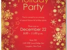 61 Blank Annual Holiday Party Invitation Template Layouts with Annual Holiday Party Invitation Template