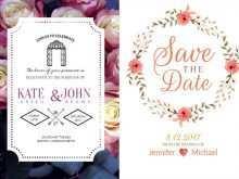Invitation Card Format For Wedding