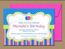 Birthday Invitation Templates Etsy