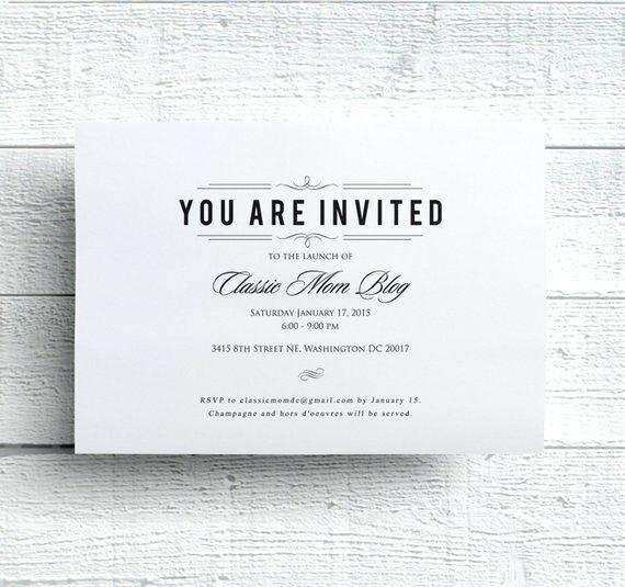 62 Customize Formal Invitation To An Event Template Templates for Formal Invitation To An Event Template