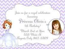 62 Free Sofia The First Invitation Blank Template in Word by Sofia The First Invitation Blank Template