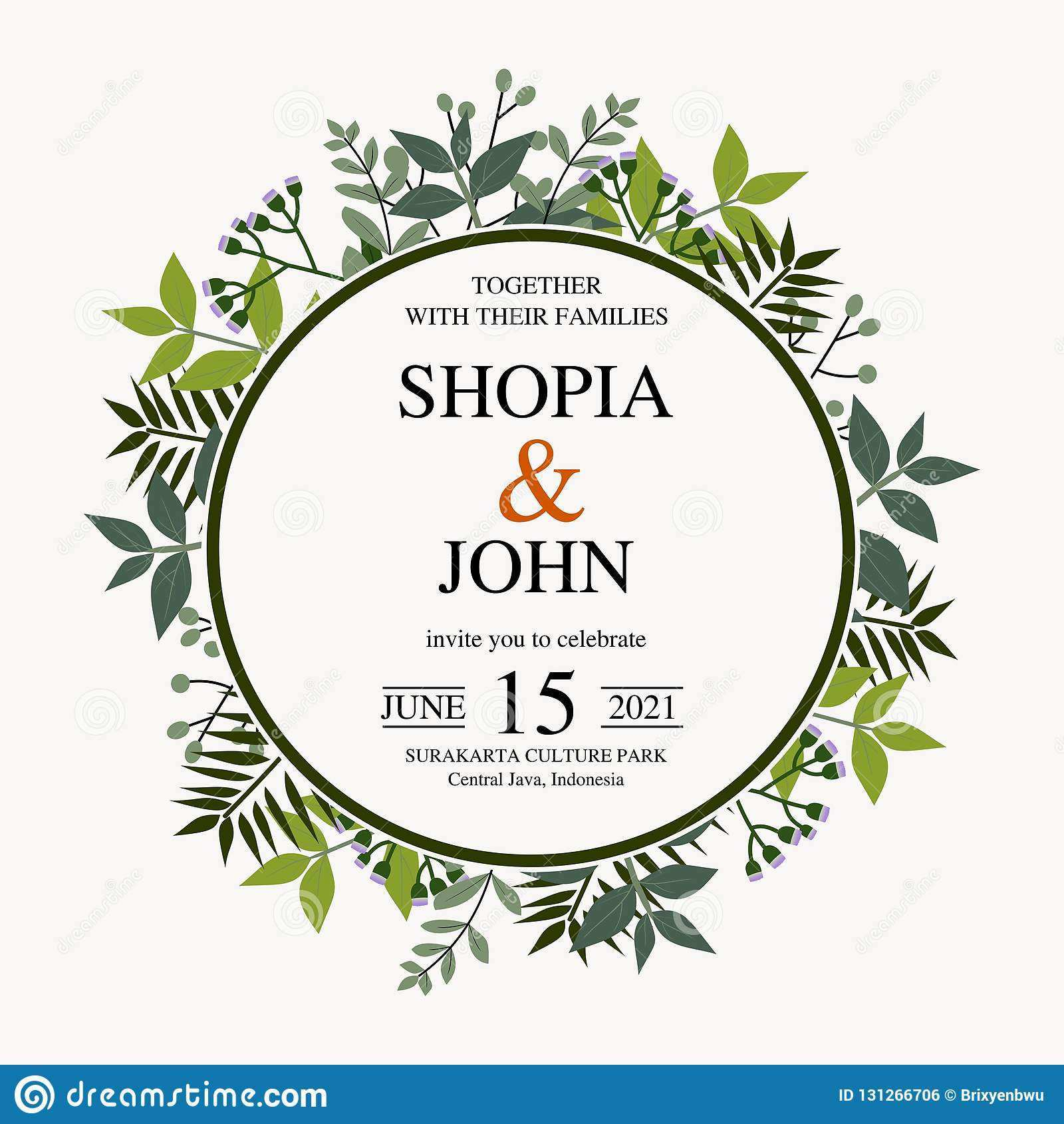 5 Report Vector Invitation Template Java for Ms Word with Vector