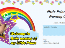 63 Creating Invitation Card Samples Baby 21St Day Ceremony Photo for Invitation Card Samples Baby 21St Day Ceremony