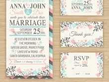 63 The Best Rsvp Wedding Invitation Template With Stunning Design with Rsvp Wedding Invitation Template
