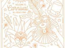 64 How To Create Carnival Invitation Template Vector in Word by Carnival Invitation Template Vector