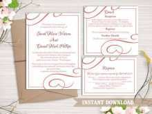 Printable Elegant Invitation Template