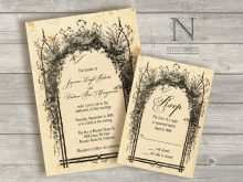 66 Customize Enchanted Forest Wedding Invitation Template Maker for Enchanted Forest Wedding Invitation Template