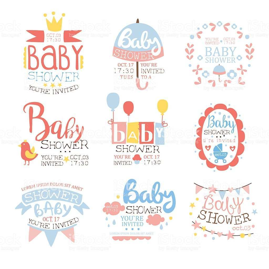 67 Free Printable Baby Shower Invitation Templates Vector Layouts by Baby Shower Invitation Templates Vector