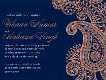 67 Printable Indian Wedding Invitation Card Design Blank Template Maker With Indian Wedding Invitation Card Design Blank Template Cards Design Templates