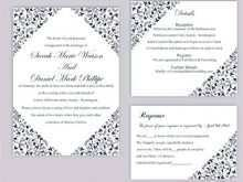 Wedding Invitation Template Word Document