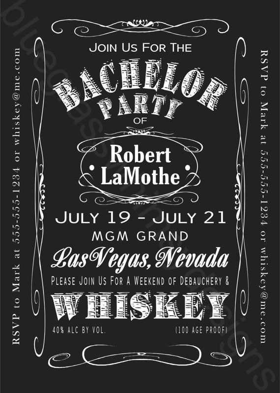 68 Customize Bachelor Party Invitation Template Maker for Bachelor Party Invitation Template
