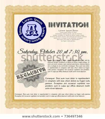 68 Format Formal Invitation Template Vector For Free with Formal Invitation Template Vector