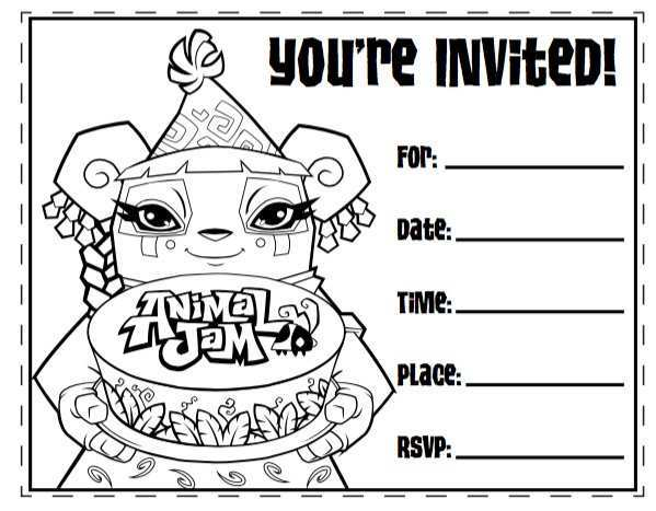 68 How To Create Birthday Invitation Template Black And White For