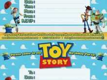 68 How To Create Toy Story Birthday Invitation Template Layouts with Toy Story Birthday Invitation Template
