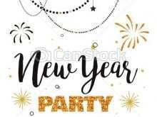 68 Visiting New Year Party Invitation Template With Stunning Design with New Year Party Invitation Template