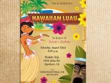 69 Blank Hawaiian Party Invitation Template Layouts for Hawaiian Party Invitation Template