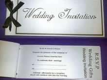 69 Creating Cheque Book Wedding Invitation Template With Stunning Design with Cheque Book Wedding Invitation Template