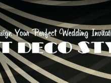 69 Free Printable Gatsby Wedding Invitation Template Free Maker with Gatsby Wedding Invitation Template Free