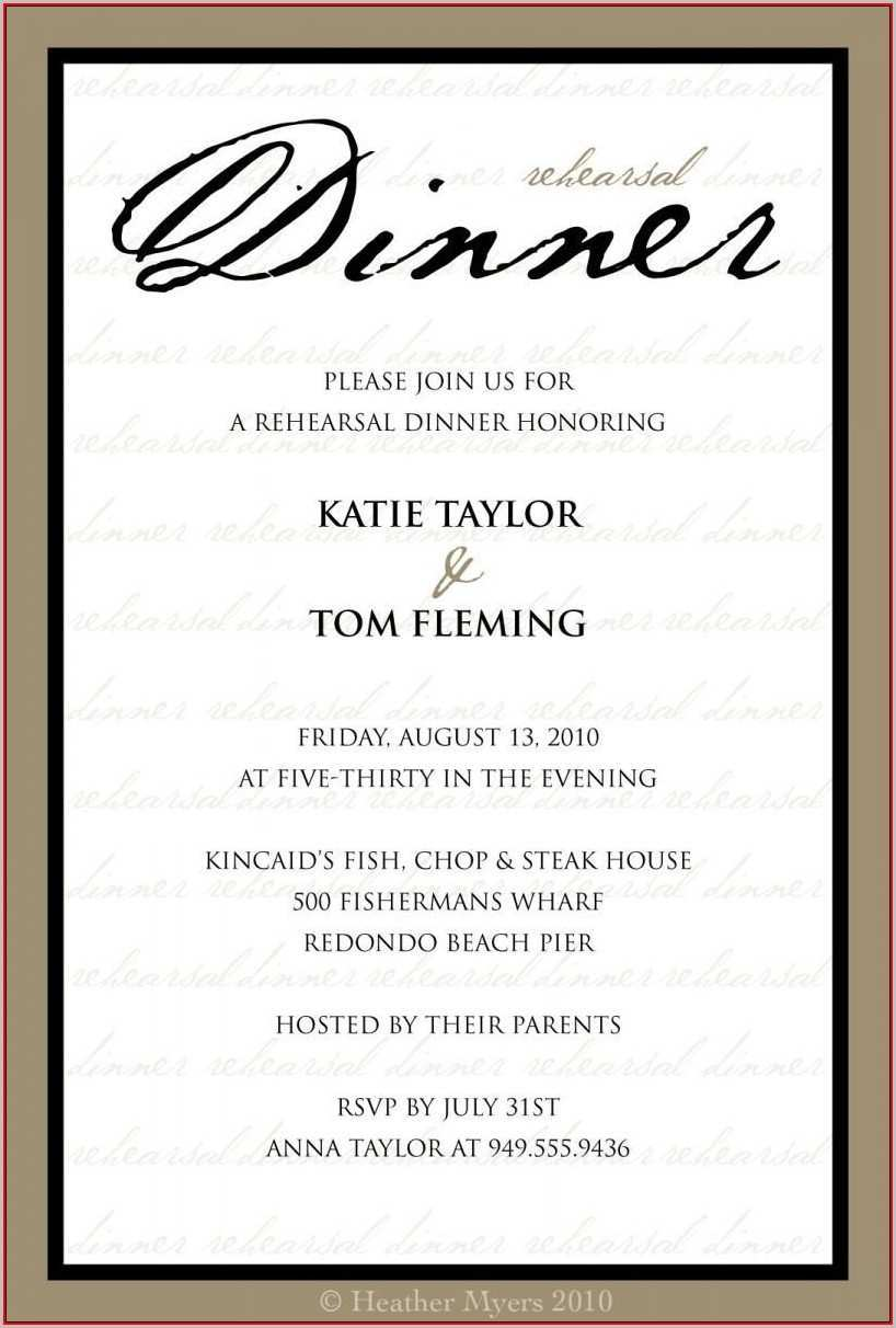 5 Creative Formal Dinner Invitation Template Layouts by Formal