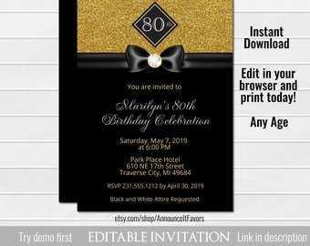 70 Free Birthday Invitation Templates Etsy Download for Birthday Invitation Templates Etsy