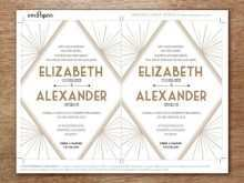 70 Printable Gatsby Wedding Invitation Template Free Maker for Gatsby Wedding Invitation Template Free