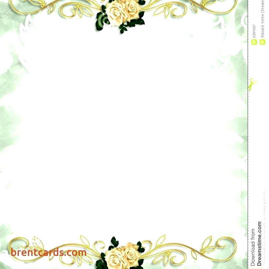 70 Standard Wedding Invitation Blank Template Free Photo by Wedding Invitation Blank Template Free