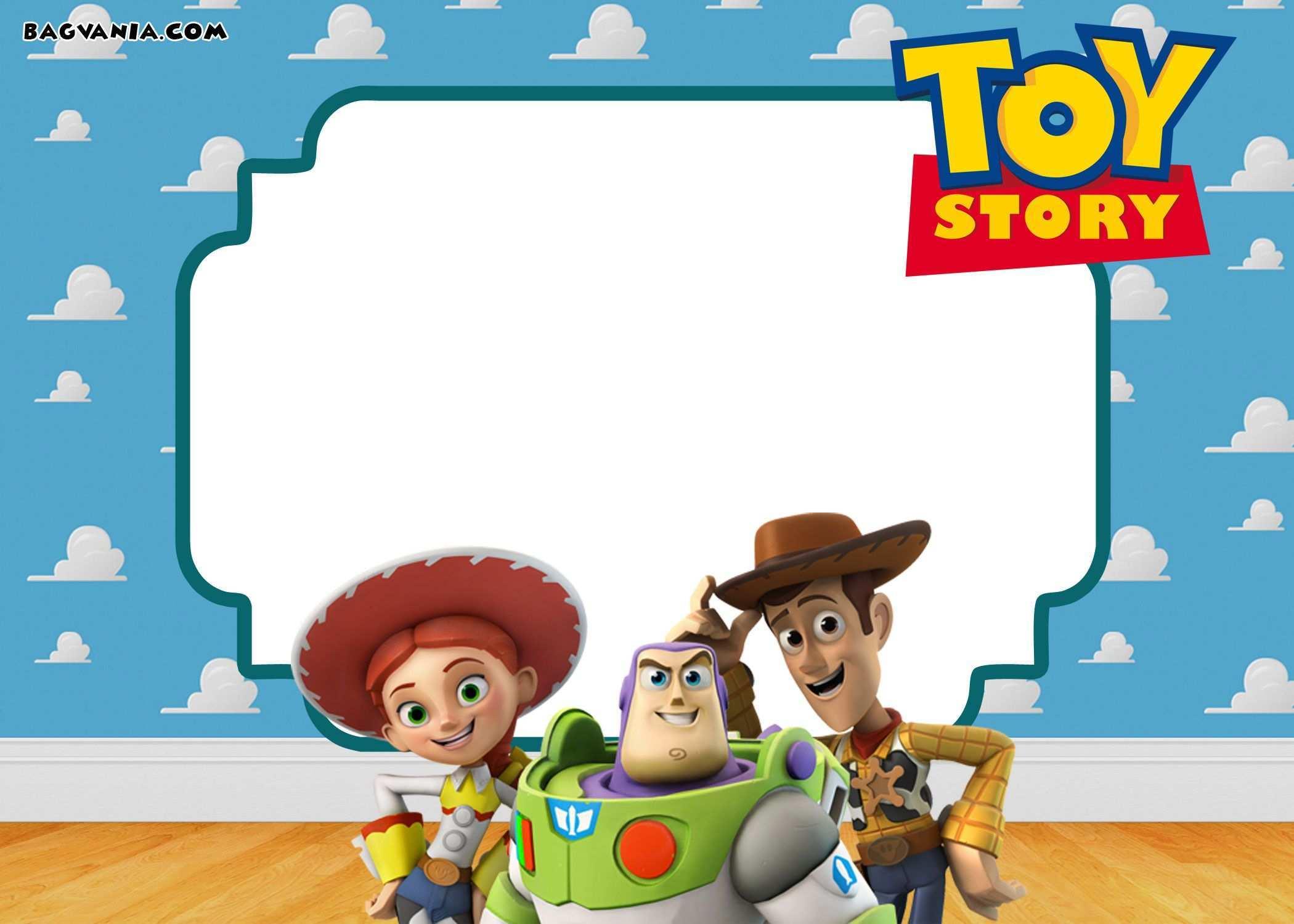 71 Blank Toy Story Birthday Invitation Template for Ms Word with Toy Story Birthday Invitation Template