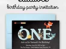 71 Blank Wild One Birthday Invitation Template Free PSD File by Wild One Birthday Invitation Template Free