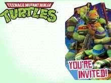 71 How To Create Ninja Party Invitation Template Free Download by Ninja Party Invitation Template Free