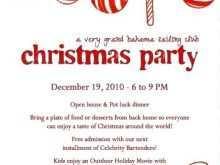 71 Report Christmas Dinner Invitation Examples Maker by Christmas Dinner Invitation Examples