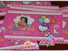 71 Standard 7Th Birthday Invitation Template Hello Kitty Layouts for 7Th Birthday Invitation Template Hello Kitty