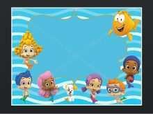 72 Printable Blank Bubble Guppies Invitation Template Maker with Blank Bubble Guppies Invitation Template