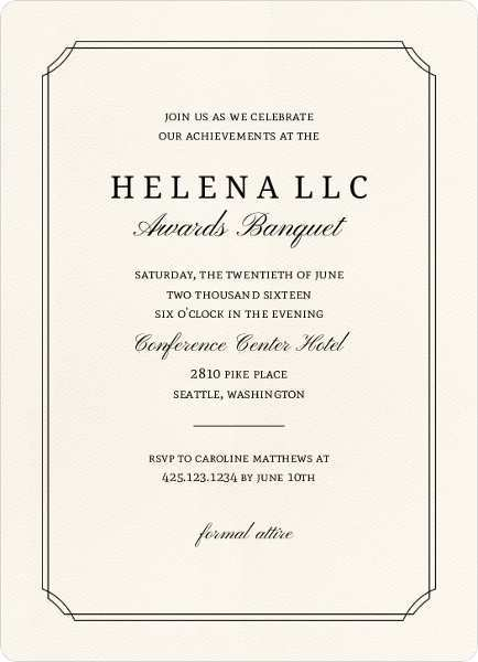 73 Online Formal Invitation To An Event Template in Word with Formal Invitation To An Event Template