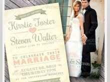 Indesign Wedding Invitation Template