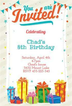 74 Customize Birthday Invitation Template In Word Download for Birthday Invitation Template In Word