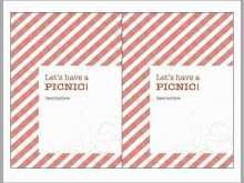 74 How To Create Blank Picnic Invitation Template Photo for Blank Picnic Invitation Template