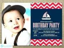 Nautical Birthday Invitation Template Free