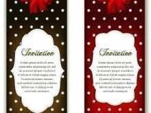 75 Create Blank Vintage Invitation Template For Free by Blank Vintage Invitation Template