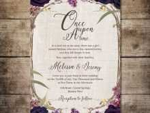 76 Create Enchanted Forest Wedding Invitation Template for Ms Word by Enchanted Forest Wedding Invitation Template