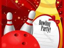 76 Format Bowling Party Invitation Template Maker for Bowling Party Invitation Template