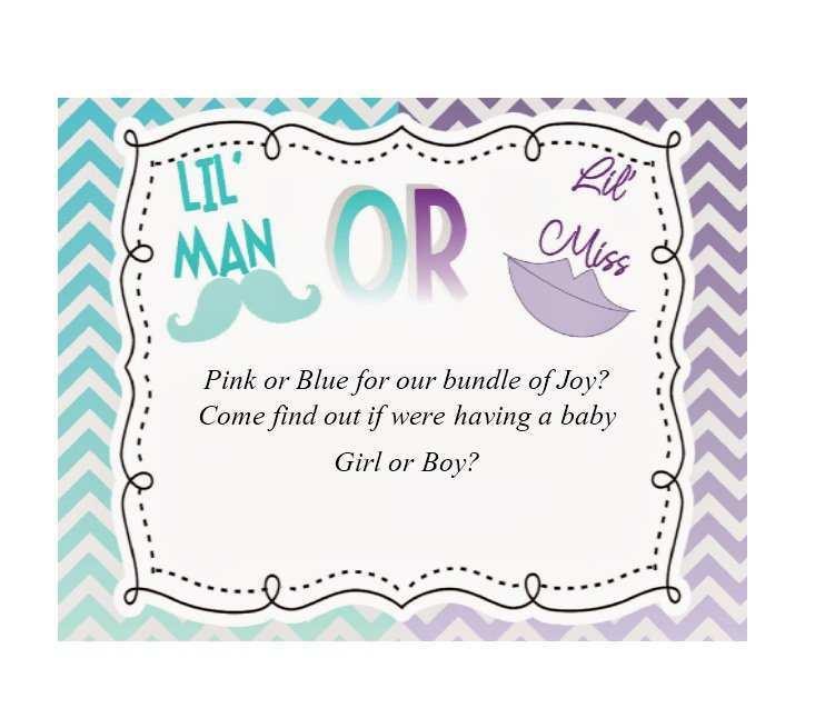 77 Free Blank Gender Reveal Invitation Template For Free by Blank Gender Reveal Invitation Template
