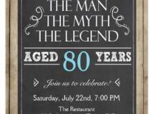 77 Visiting 80Th Birthday Invitation Template Uk For Free for 80Th Birthday Invitation Template Uk
