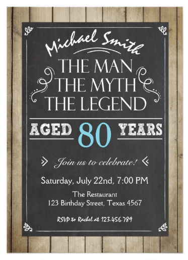 77 Visiting 80Th Birthday Invitation Template Uk For Free for 80Th ...