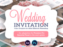 Wedding Invitation Template Ae