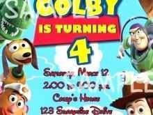 78 Online Toy Story Birthday Invitation Template Formating with Toy Story Birthday Invitation Template