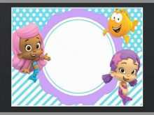 79 Customize Our Free Blank Bubble Guppies Invitation Template for Ms Word with Blank Bubble Guppies Invitation Template
