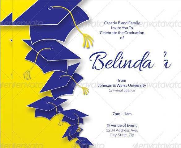 80 Blank Graduation Invitation Card Example Maker by Graduation Invitation Card Example