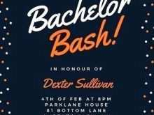80 Create Bachelor Party Invitation Template in Word with Bachelor Party Invitation Template