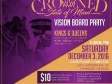 Vision Board Party Invitation Template