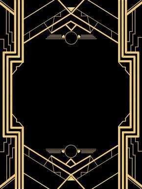 80 Printable Blank Great Gatsby Invitation Template Layouts with Blank Great Gatsby Invitation Template